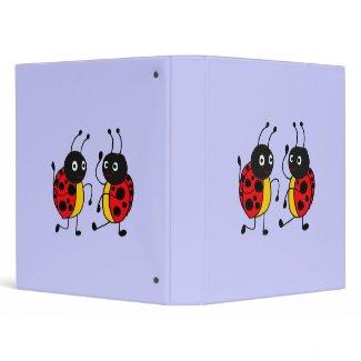 AZ- Dancing Ladybug Binder