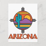 AZ-Desert Mandella Postcard