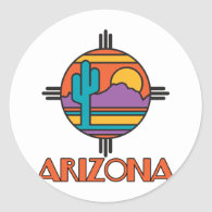 AZ-Desert Mandella Sticker