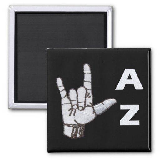 AZ FRIDGE MAGNETS