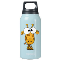 AZ- Funny Giraffe Insulated Water Bottle