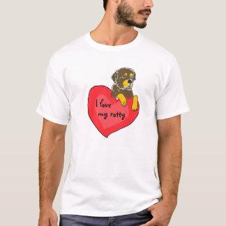 AZ- I love my rotty shirt