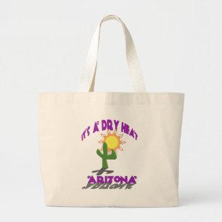 AZ-It's a Dry Heat Jumbo Tote Bag