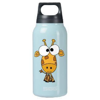 AZ- jirafa divertida Botella Isotérmica De Agua