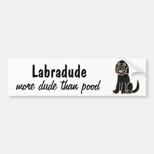AZ- Labradoodle Bumper Sticker