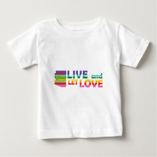 AZ Live Let Love Baby T-Shirt