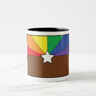 AZ Love Two-Tone Coffee Mug