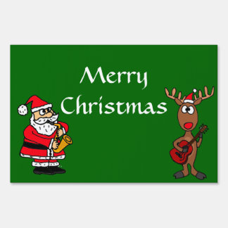 AZ  Merry Christmas Yard Sign Or Decoration