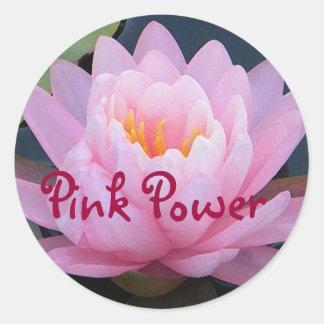 AZ- Pink Power Lily Stickers