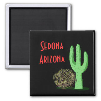 AZ Promo Magnet Tumbleweed Saguarro Cactus Saguaro