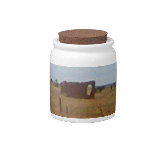 Az Rubble Ranch Candy Jar