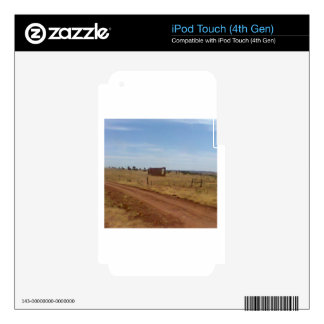 Az Rubble Ranch Decal For iPod Touch 4G