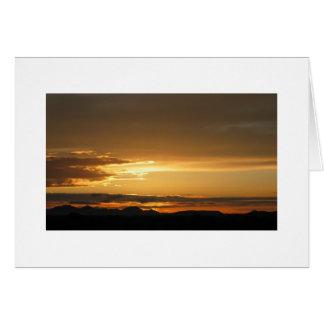 AZ Sunrise Notecard Greeting Card