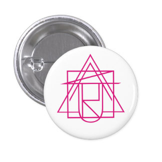 Az.U.R Pink Logo Badge Button
