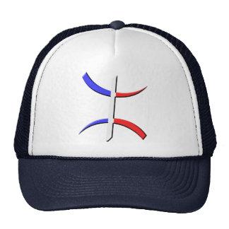 aza berber tricolore trucker hat