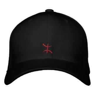 aZa rouge de 3 cm Embroidered Baseball Cap