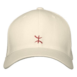 aZa rouge de 3 cm Embroidered Baseball Hat