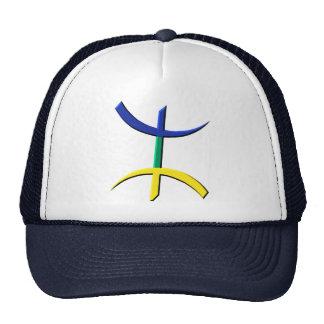 aza tricolore (kabyle, berbere, amazigh) trucker hat