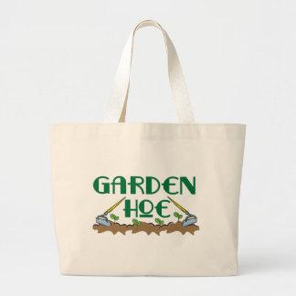Azada del jardín bolsa tela grande