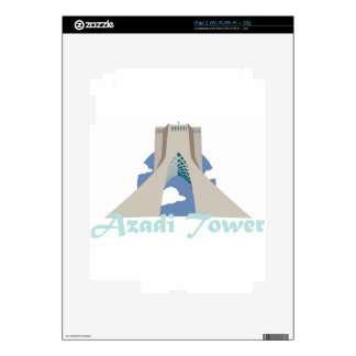Azadi Tower  Decal For iPad 2