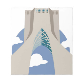 Azadi Tower Tehran Notepad
