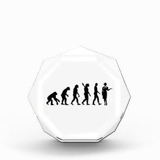 Azafata de la evolución