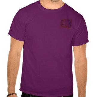 Azafrán 2 del rezo de la serenidad t-shirts
