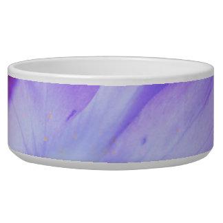 Azafrán púrpura para la conciencia del FMS Tazón Para Perro