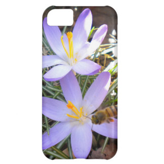 Azafrán púrpura y el caso del iPhone 5 de la abeja
