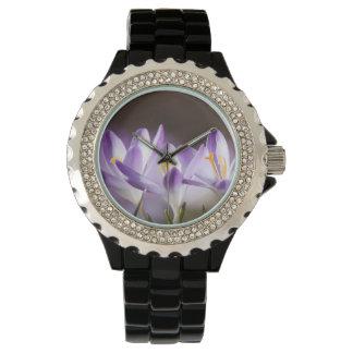 azafrán relojes de pulsera