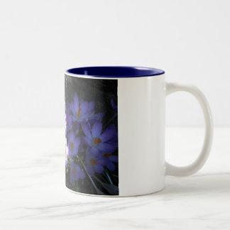 azafrán taza de dos tonos