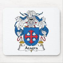 Azagra Family Crest Mousepad