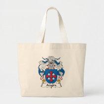Azagra Family Crest Bag