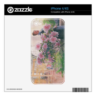 Azalea, 1906 (w/c on paper) iPhone 4 skins