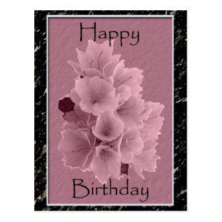 Azalea Birthday Postcards