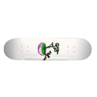 Azalea Bonsai Orange Flowers Bonsai Graphic Skateboard Deck
