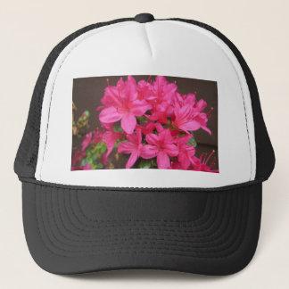 Azalea Dark Pink Close Trucker Hat