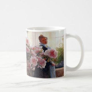 Azalea de Carl Larsson floral Taza
