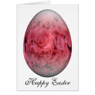 azalea feliz del huevo de Pascua Tarjeta