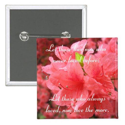 Azalea Field: Love - Button #1