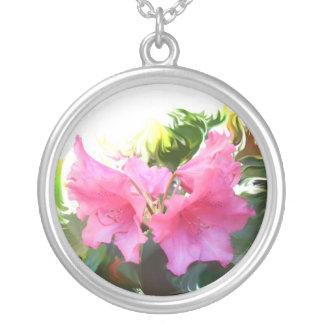 Azalea flor colgante redondo