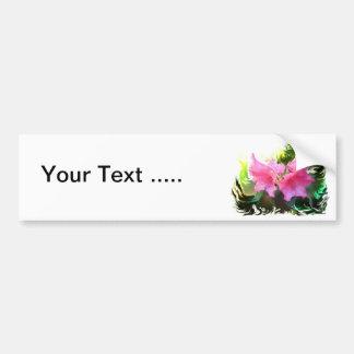 Azalea flower bumper sticker