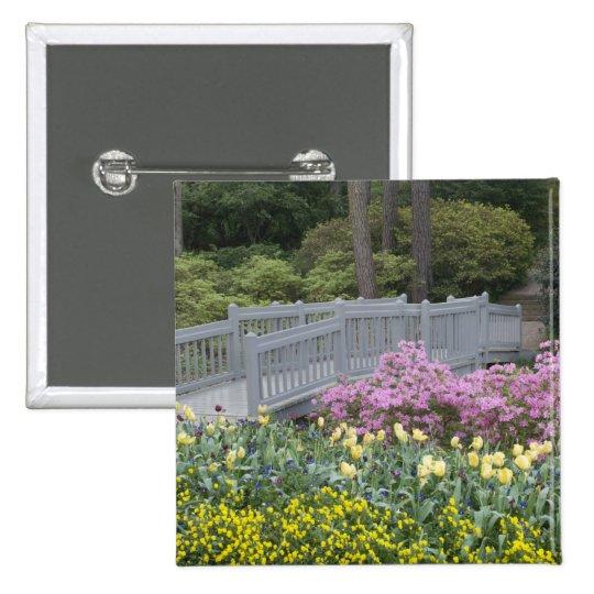Azalea Heath Family (Ericaceae), Tulip, and Pinback Button