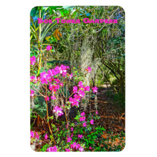 Azalea Path Bok Tower Gardens Lake Wales Florida Magnet
