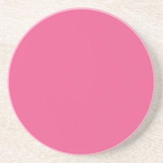 AZALEA PINK (a solid flowery color) ~ Drink Coaster