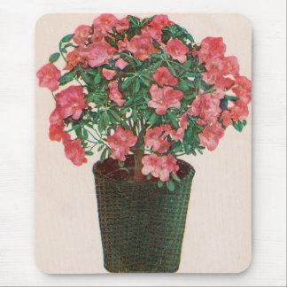 Azalea Potted Plant Easter Mouse Pad