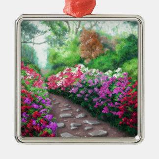 Azalea Road Metal Ornament