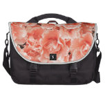 Azalea roja y rosada bolsas de ordenador