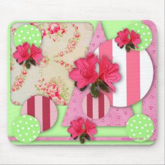 Azalea Scrapbook Mousepad