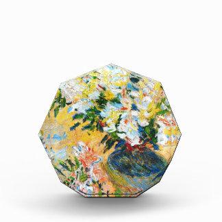 Azaleas blancas en un pote, Claude Monet 1885